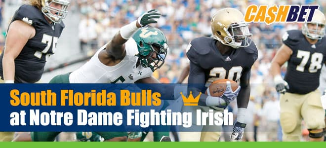 Notre Dame host South Florida on September 19th, 2020 – Betting Predictions and Odds Preview