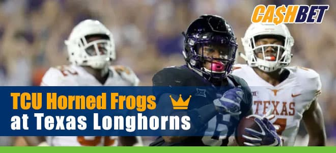 TCU Horned Frogs vs. Texas Longhorns NCAA Football betting preview