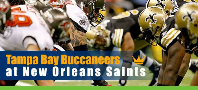 Tampa Bay Buccaneers at New Orleans Saints NFL Betting Preview, odds and Picks