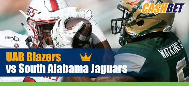 UAB Blazers vs. South Alabama Jaguars NCAA Football betting preview