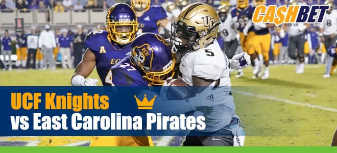 Central Florida Knights vs. East Carolina Pirates NCAAF betting preview