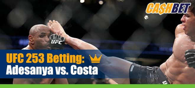 UFC 253 Betting: Israel Adesanya vs. Paulo Costa Odds