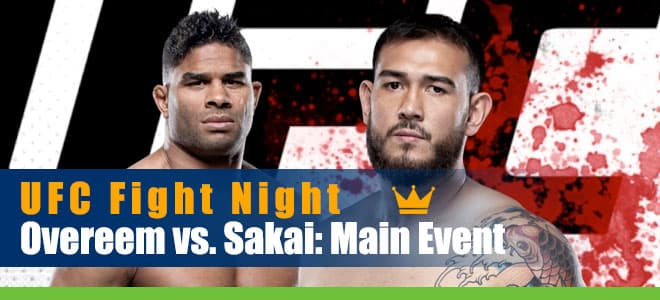 Alistair Overeem vs. Augusto Sakai FC Fight Night Betting Preview