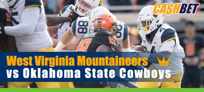 West Virginia Mountaineers vs. Oklahoma State Cowboys NCAAF Betting preview