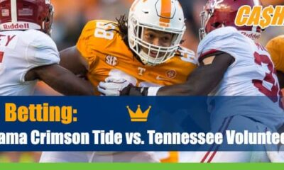 Alabama Crimson Tide at Tennessee Volunteers NCAA Football best bets and odds