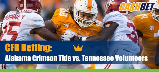 Alabama Crimson Tide vs. Tennessee Volunteers NCAA Football Betting Preview (Updated Odds)