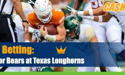 Baylor Bears vs. Texas Longhorns NCAA Football betting odds and picks