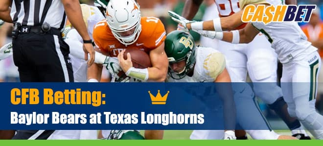 Baylor Bears vs. Texas Longhorns Betting Preview Updated Odds and Analysis (October 24)