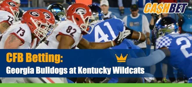 Georgia Bulldogs vs. Kentucky Wildcats NCAAF Betting preview, odds and picks