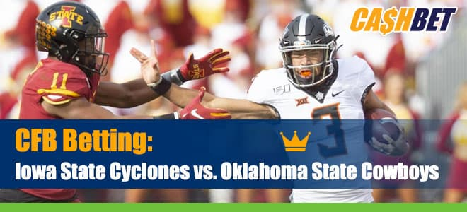 Iowa State Cyclones at Oklahoma State College Football betting odds, picks and news