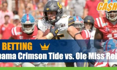 Alabama Crimson Tide vs. Ole Miss Rebels College Football picks and lines