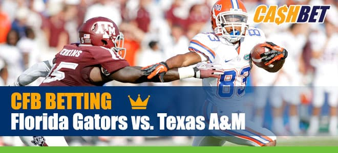 Florida Gators vs. Texas A&M - College Football betting predictions, odds and picks