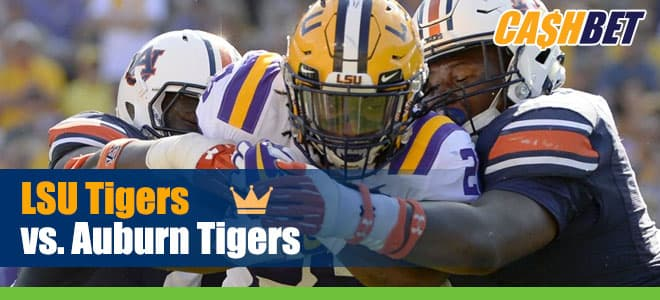 LSU Tigers vs. Auburn Tigers