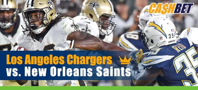 Los Angeles Chargers vs. New Orleans Saints NFL betting predictions and odds