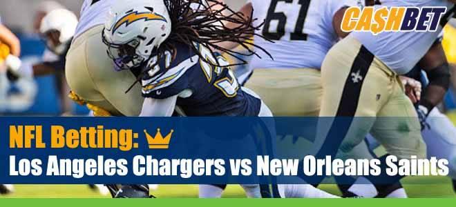 Los Angeles Chargers vs New Orleans Saints