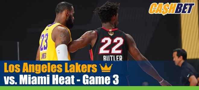 Los Angeles Lakers Vs Miami Heat Nba Finals Game 3 Odds Picks Bets