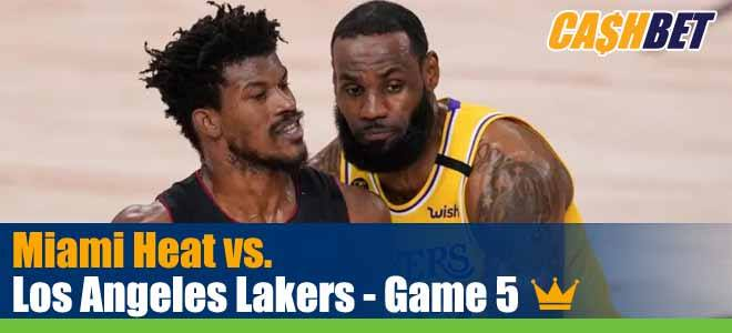 Miami Heat Vs Los Angeles Lakers Game 5 Odds Previews And Picks