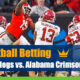 Georgia Bulldogs vs. Alabama Crimson Tide College Football odds and picks
