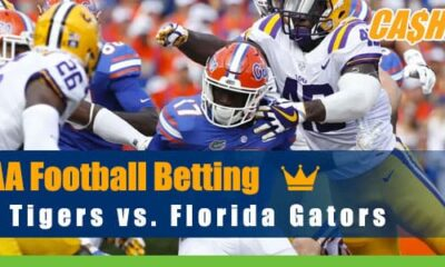 LSU Tigers at Florida Gators College Football odds, picks and predictions