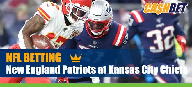 New England Patriots at Kansas City Chiefs NFL betting preview, odds and picks