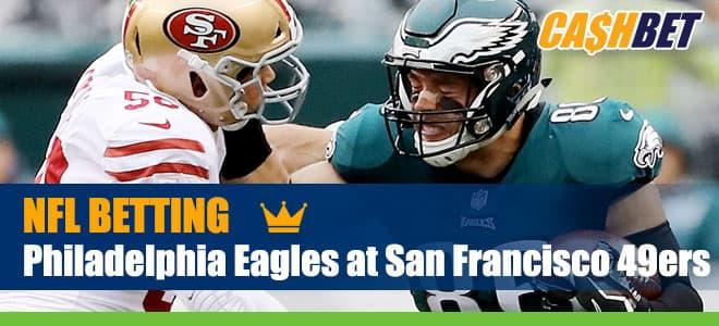 Philadelphia Eagles vs. San Francisco 49ers NFL betting odds and picks