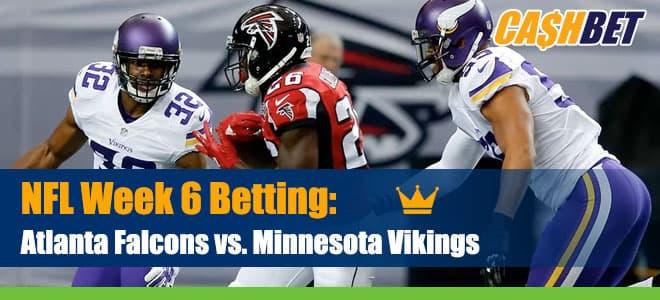 Atlanta Falcons at Minnesota Vikings NFL Betting odds and Picks