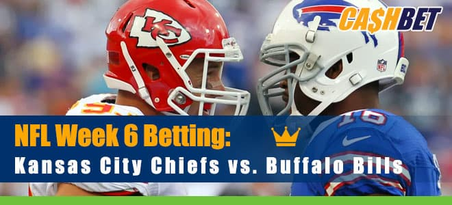 Kansas City Chiefs at Buffalo Bills NFL betting