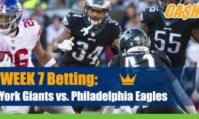 New York Giants at Philadelphia Eagles NFL Betting