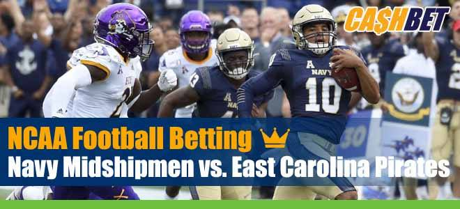Navy Midshipmen vs East Carolina Pirates NCAA Football Week 7 Betting Previews, Game Analysis and Odds