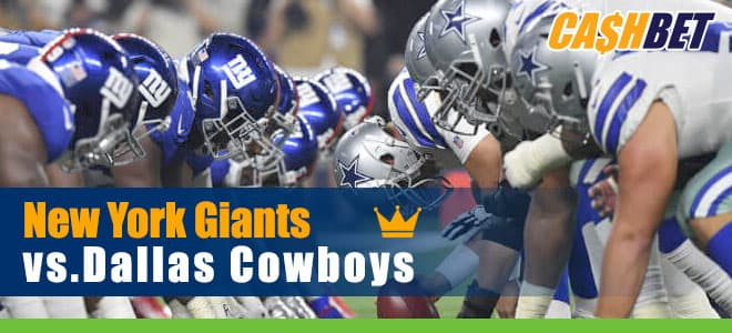 New York Giants vs. Dallas Cowboys NFL betting preview, odds and picks
