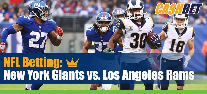 New York Giants vs. Los Angeles Rams