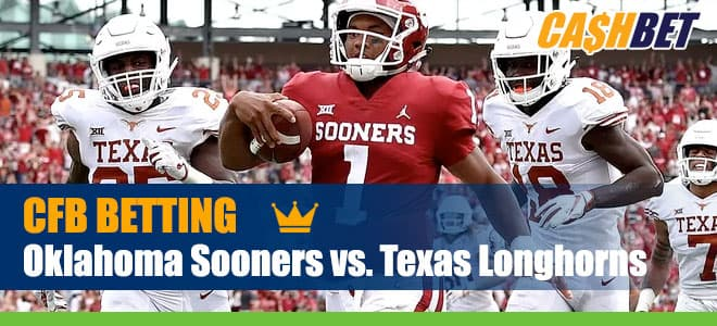 Oklahoma Sooners vs. Texas Longhorns NCAA Football betting preview, odds and picks