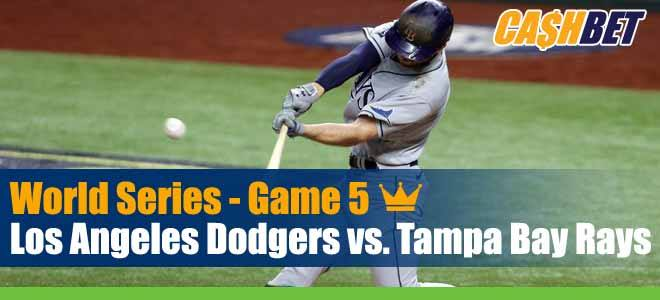 Tampa Bay Rays vs. Los Angeles Dodgers MLB World Series Game 5 Predictions, Spread and Previews