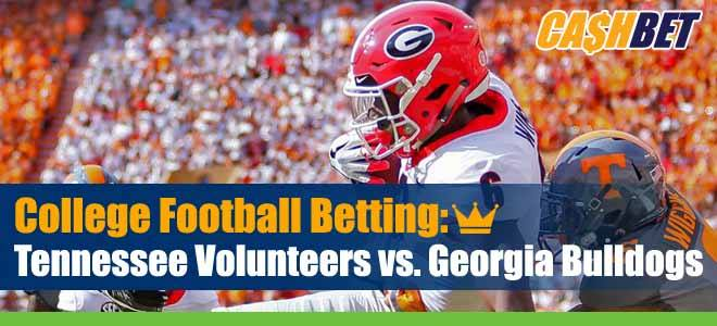 Tennessee Volunteers vs. Georgia Bulldogs NCAA Football Picks, Game Analysis and Odds