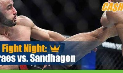 UFC Fight Night 179 Betting Moraes vs Sandhagen
