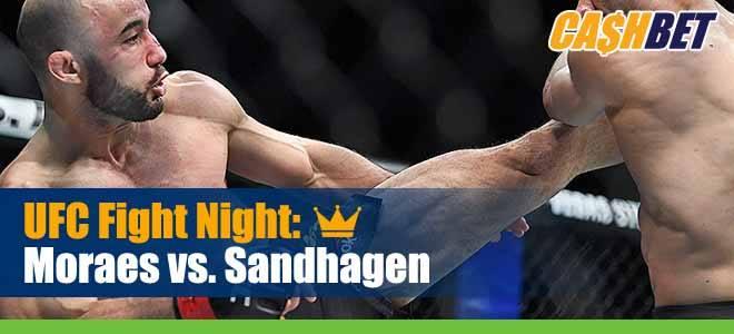 UFC Fight Night 179 Betting Moraes vs Sandhagen