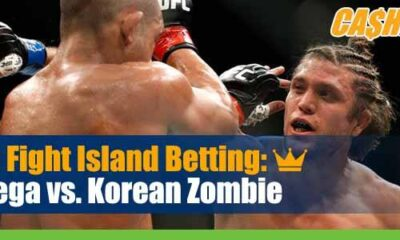 UFC Fight Night 180 Betting Ortega vs Korean Zombie