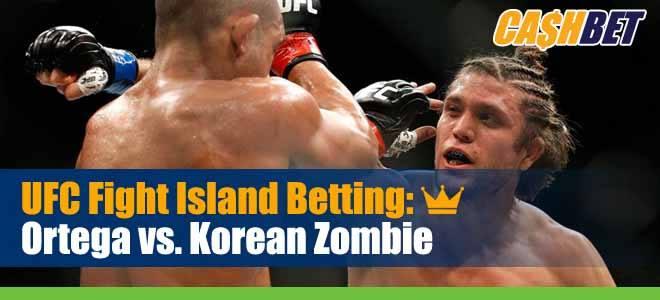 UFC Fight Night 180 Betting Ortega vs Korean Zombie