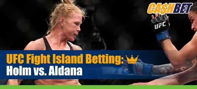 UFC on ESPN 16 Betting Holm vs. Aldana