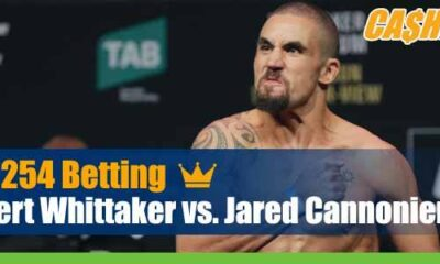 Whittaker vs. Cannonier