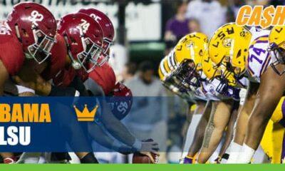 Alabama Crimson Tide vs. LSU Tigers NCAA Football betting preview, odds and picks
