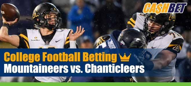 Appalachian State Mountaineers vs Coastal Carolina Chanticleers