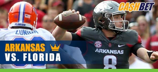 Arkansas Razorbacks vs. Florida Gators College Football best bets, odds and picks