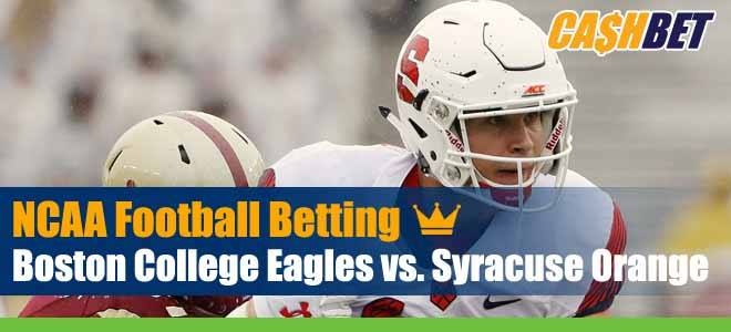 Boston College Eagles vs. Syracuse Orange NCAA Football Week 10 Game Analysis, Previews and Betting Picks