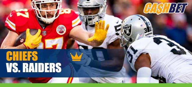 Kansas City Chiefs vs. Las Vegas Raiders NFL betting odds and picks