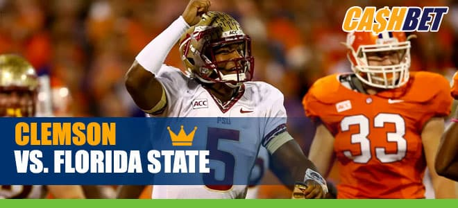Clemson Tigers vs. Florida State Seminoles NCAA Football betting odds and picks