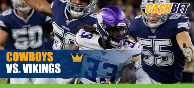 Dallas Cowboys vs. Minnesota Vikings NFL betting odds and picks