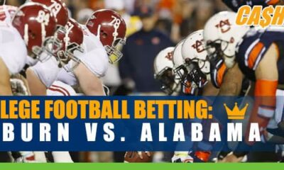Auburn Tigers vs. Alabama Crimson Tide NCAA Football betting, odds and picks