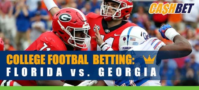 Georgia Bulldogs vs. Florida Gators betting preview