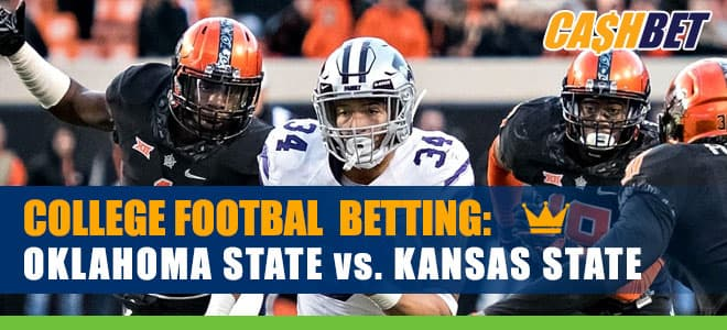 Oklahoma State Cowboys vs. Kansas State Wildcats NCAA Football betting odds and preview